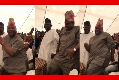 Senator Ademola Adeleke: I Love Dancing, It's A Form Of Exercise For Me