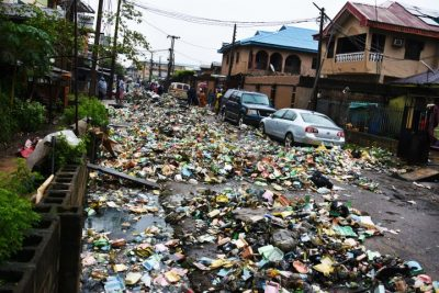 See How Mammoth Debris From Flooded Surulere Got Evacuated Within Hours