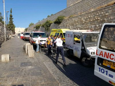 3 Arab Terrorists Shot Dead At The Entrance Of Temple Mount, Jerusalem