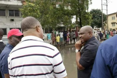 Governor Wike Visits Flood-ravaged Area In Rivers State