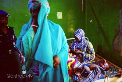 Kebbi First Lady Weeps Uncontrollably At The Condition Of State Hospital