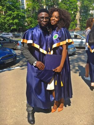 The Moment Instagram Comedian, CrazeClown And Girlfriend Graduate As Medical Doctors