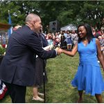 Excitement On The Face Of Nigerian Lady Who Got U.S. Citizenship After 17-year Wait