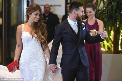 Lionel Messi Locks It Up In Holy Matrimony With Childhood Friend