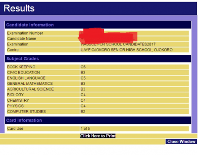 WAEC Result 2017 Officially Out Online - See How To Check