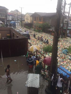 Lagos Government To Demolish Buildings Blocking Drainage Channels