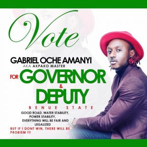 Terry G Joins Benue Governorship Race