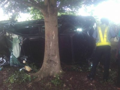 How Collision Between Okada And SUV Claimed Two Lives In Abeokuta