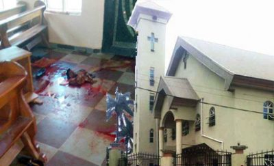 Anambra Church Killing: How Parish Priest Escaped By Hiding Under The Altar