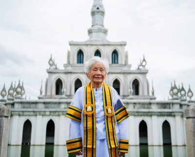 91-year-old Grandma Graduates From University In Thailand