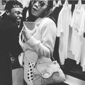 Toyin Lawani And L.A.X Spark Dating Rumours