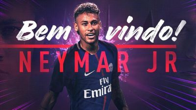 PSG Signs Neymar For €222m World Record, To Wear Number 10 Jersey