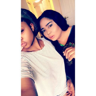 Regina Daniels Steps Out With Mom Rocking The Same Outfits