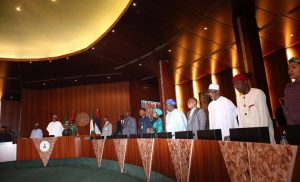 State House Staff Prepare For President Buhari's Arrival