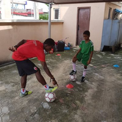 Timi Dakolo Employs Personal Football Trainer For His Son After Neymar's Deal