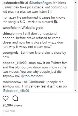 Drake Performs 'Come Closer' Alone On Stage, WizKid's Fans Rage