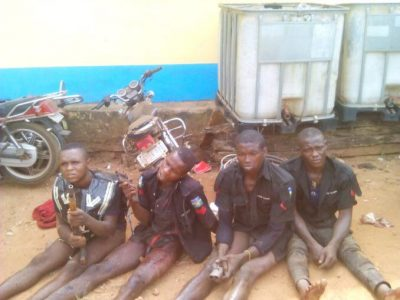 Robbers arrested in Police uniform