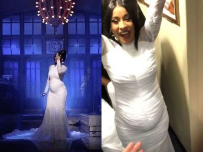 Cardi B Expecting First Child With Offset, Reveals Pregnancy During Performance