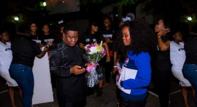 Cee-C and her father