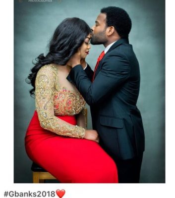 Gabriel Afolayan and girlfriend wife to be