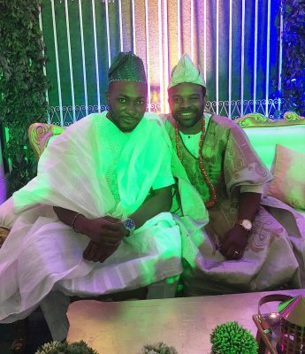 Tope Tedela and Gabriel Afolayan