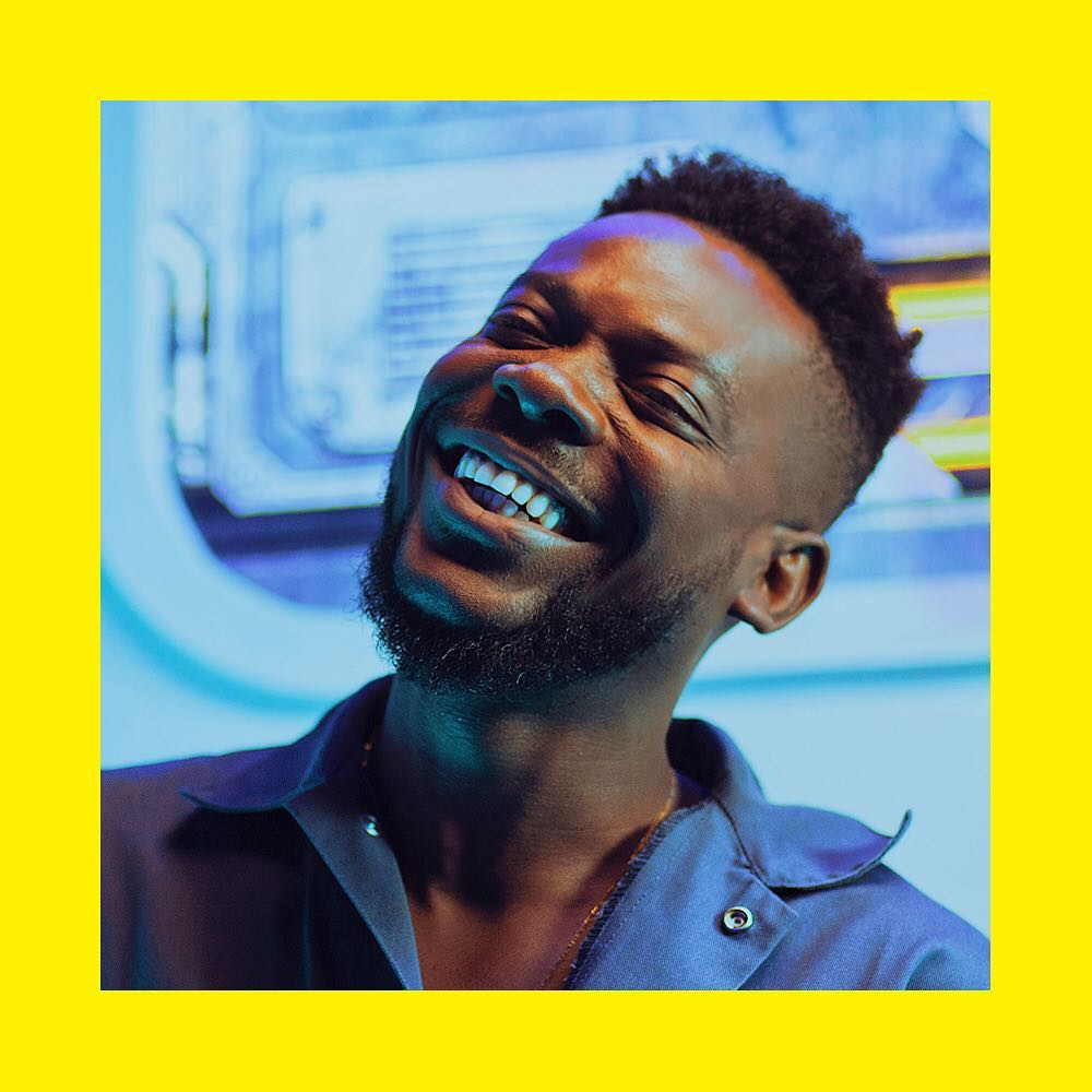 adekunle gold holds listening party for about 30