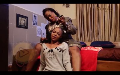 Aisha Abimbola and Kenny George in the movie Koto