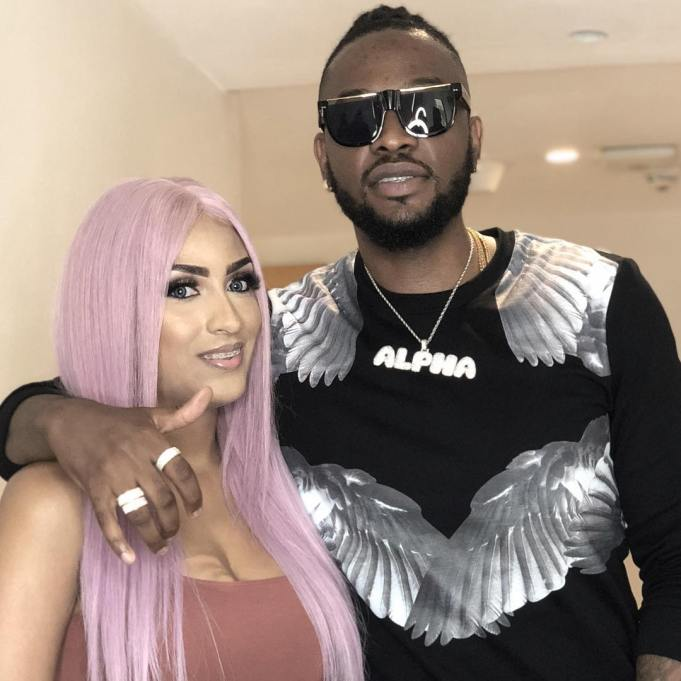 Teddy A and Juliet Ibrahim