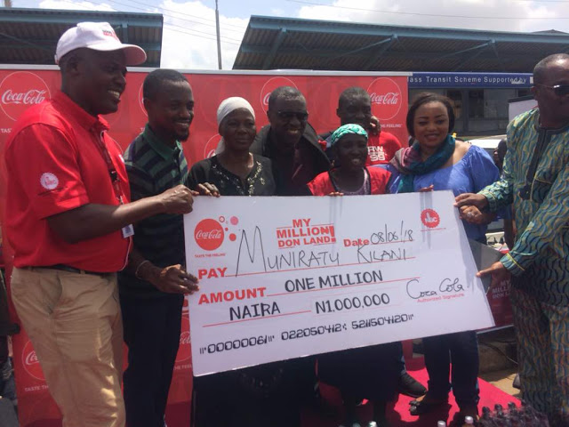 Woman wins 1 million naira