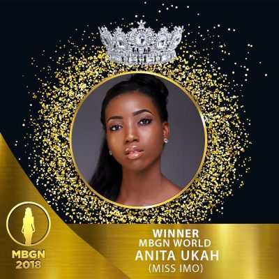 MBGN 2018 Anita Ukah most beautiful girl in Nigeria winner
