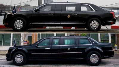 New Donald Trump G-M Armoured Limousine