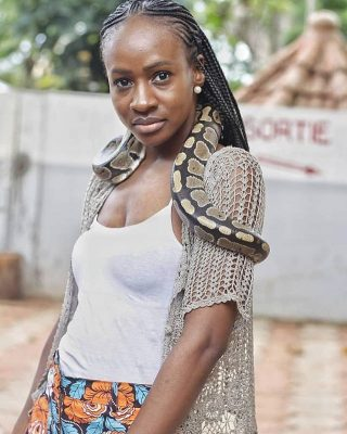 Anto Lecky Photo with Python