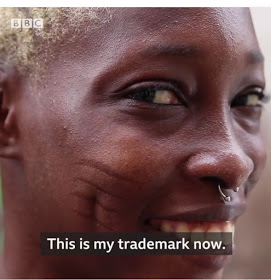 Model With Tribal Marks Who Seeked Rihanna's Attention Featured on BBC