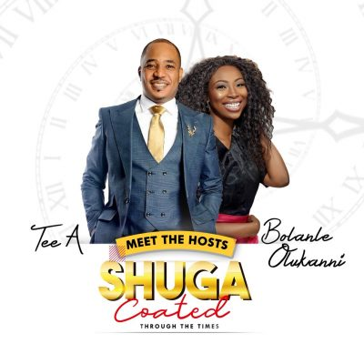 Tee A and Bolanle for Shuga Band