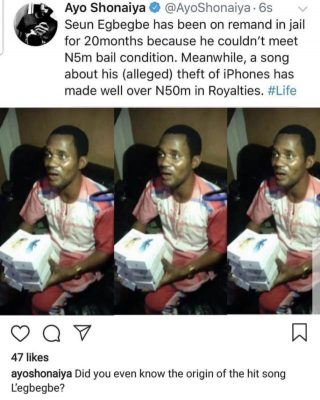 Davido Thinks Mr Real Should Bail Seun Egbegbe From Prison