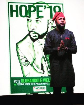 Banky W joins politics to run for House of Reps in Lagos