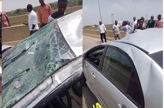 DJ Kaywise Survives Ghastly Motor Accident (Photos)