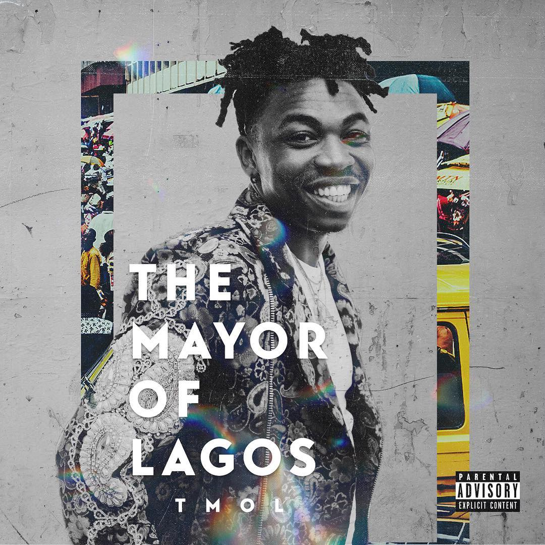 Mayorkun The Mayor of Lagos official album art