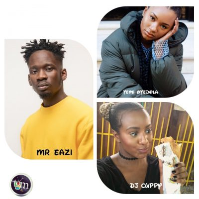 Mr Eazi Speaks On How He Met Temi Otedola & DJ Cuppy Is Involved