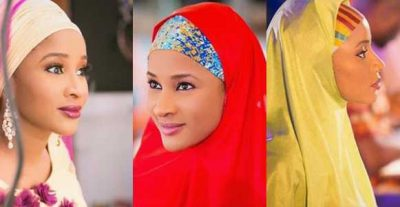 Banky W's Adesua Etomi Is To Sweet For Words In Hijab