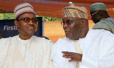 Atiku and Buhari 2019