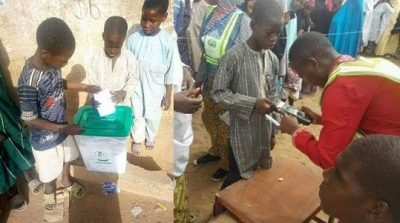 Under-age voting 2019 elections in Nigeria