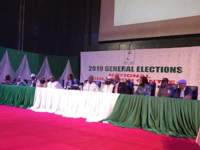 INEC announces 2019 Presidential election result
