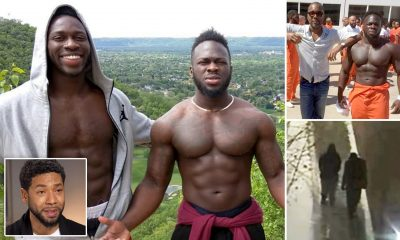 Two Nigerians arrested over Jussie Smollett attack - Ola and Abel Osundairo