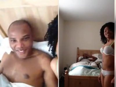 Nnamdi Kanu caught in bed video