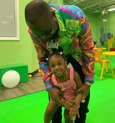 Davido and second daughter