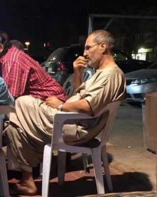 Steve's Jobs Alive in Egypt, spotted in Cairo