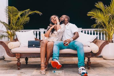 Davido's Chioma Spotted Shopping For Unborn Baby