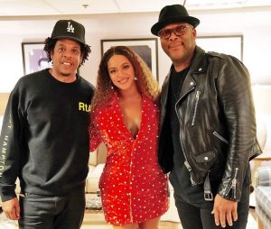 Jay Z, Beyonce, and Tyler Perry