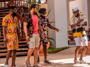 Falz, Ramsey Nouah, Jim Iyke, and AY Makun were the leads of the first Merry Men movie
